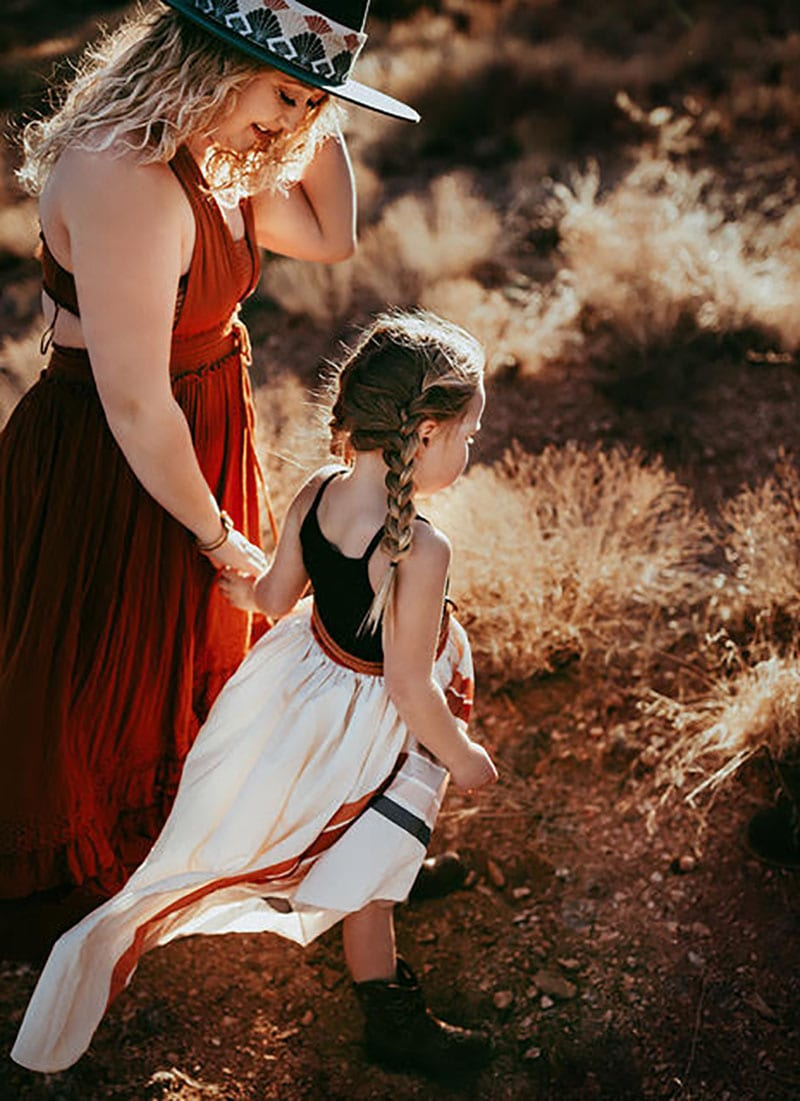 Mommy and Me Photoshoot Desert | Stormy Solis Workshop | Tessa Rae Photography