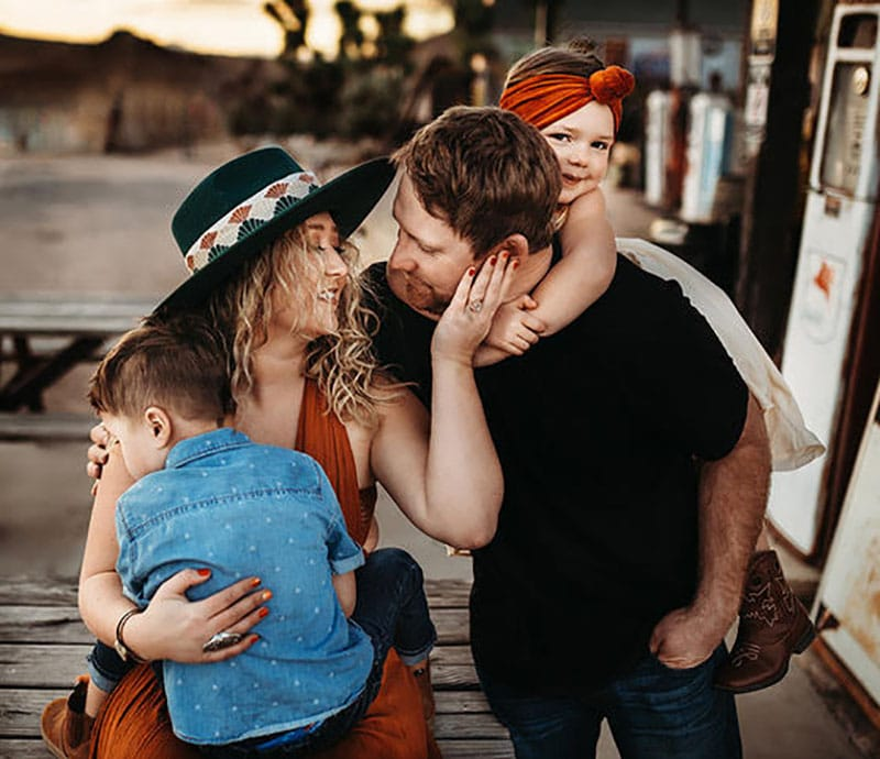 Family Emotional Photoshoot Route 66 Arizona | Stormy Solis workshop| Tessa Rae Photography