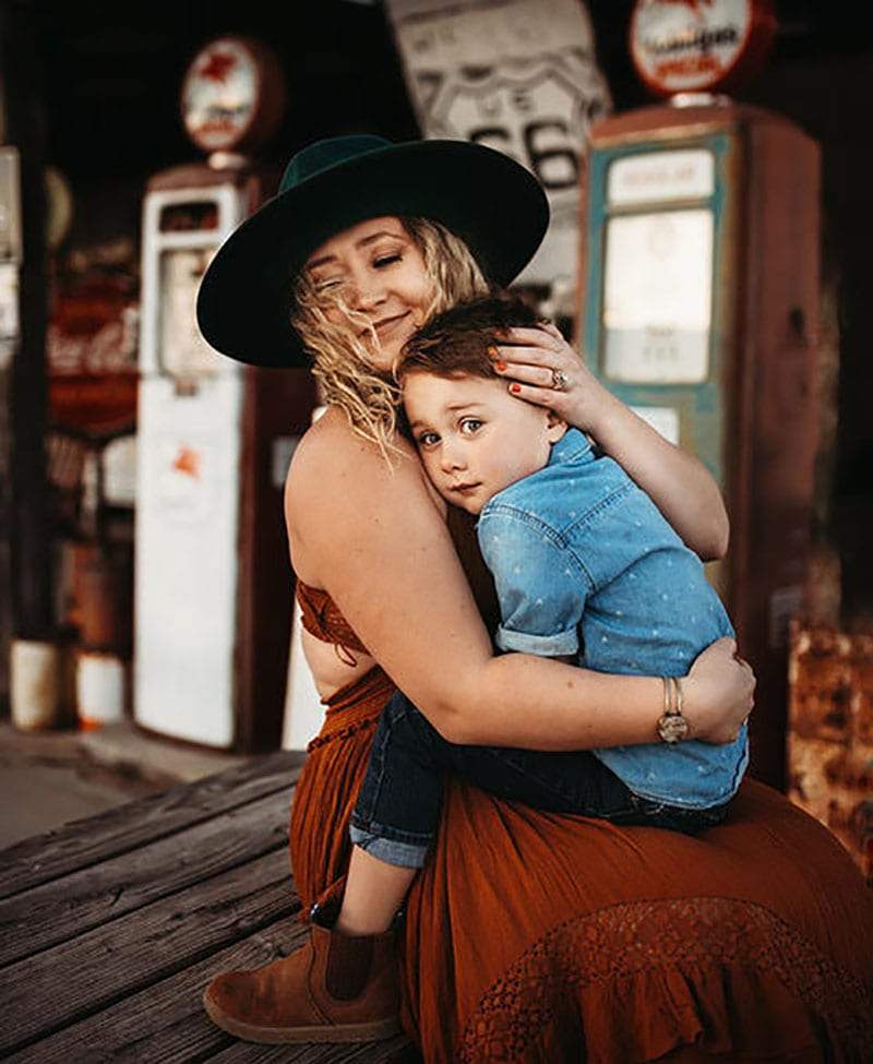 Mommy and Me Styled Shoot Boho Route 66 | Stormy Solis Workshop | Tessa Rae Photography